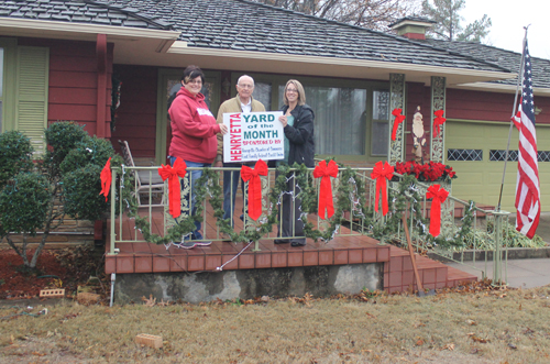Koch home is December Yard of the Month