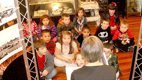 First graders see history at museum