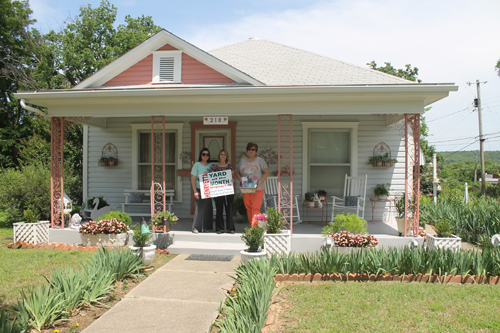 Martha Whitworth has May Yard of the Month