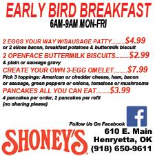 shoney breakfast