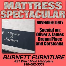 burnett mattress