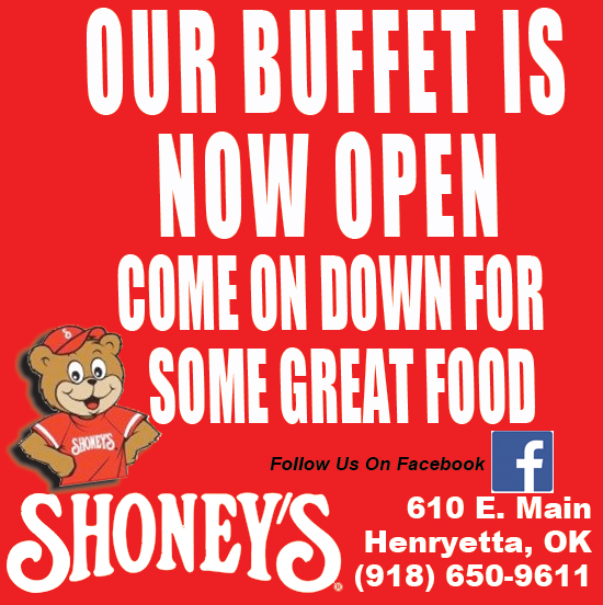 shoney buffet open
