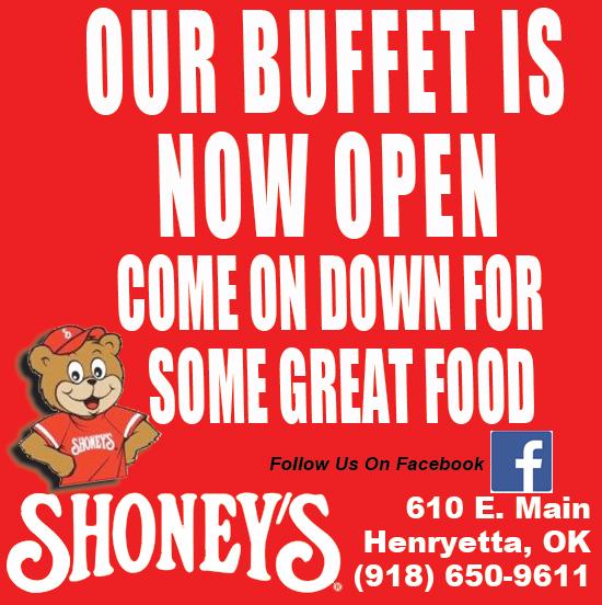 shoney buffet open