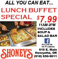 shoney lunch